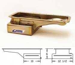 Oil System - Pans - Canton Racing - 64 - 73 Mustang Canton FE Front Sump RR T Pan