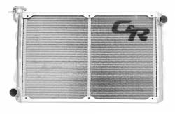 C & R Racing - 64 - 66 Mustang Radiator 5.0 Coyote Swap 2 Row