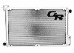Radiators - 2 - Core - C & R Racing - 64 - 66 Mustang Radiator 5.0 Coyote Swap 2 Row