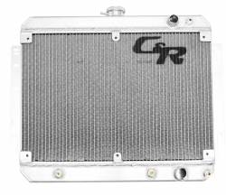 Radiators - 2 - Core - C & R Racing - 69 - 70 Mustang Radiator SBF Pass Side inlet & out