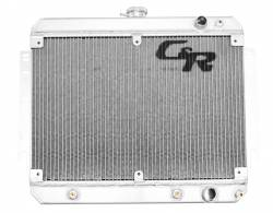 C & R Racing - 69 - 70 Mustang Aluminum Radiator, Small Block Ford