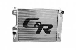 Radiators - 2 - Core - C & R Racing - 07 - 14 Mustang GT-500 Ultra High Perf. Radiator