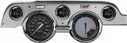 Classic Instruments - 67 - 68 Mustang 5 Gauge Instrument Cluster, Grey