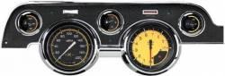 Classic Instruments - 67 - 68 Mustang 5 Gauge Instrument Cluster, Yellow