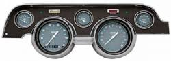 Classic Instruments - 67 - 68 Mustang 5 Gauge Set w/Scott Drake Bezel
