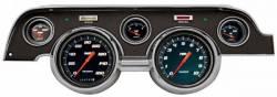 Gauges - Aftermarket Gauges - Classic Instruments - 67 - 68 Mustang 5 Gauge Set w/Scott Drake Bezel