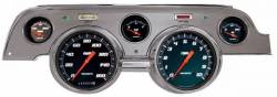 Gauges - Aftermarket Gauges - Classic Instruments - 67-68 Mustang Classic Instrument 5 Gauge w/ Bezel