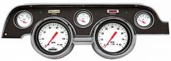 Gauges - Aftermarket Gauges - Classic Instruments - 67 - 68 Mustang 5 Gauge Set w/Scott Drake Bezel