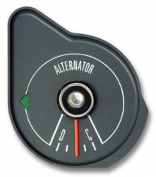 Gauges - Stock Gauges - Scott Drake - 1970 Mustang Alternator Gauge, Gray