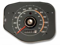 Gauges - Stock Gauges - Scott Drake - 1970 Mustang Speedometer, Gray Face