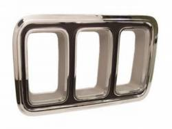 Electrical & Lighting - Tail Lights - Scott Drake - 70 Mustang Tail Light Bezel (without Chrome, LH)