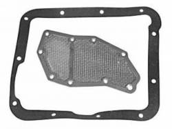 Transmission - Automatic Components - Scott Drake - 1970 - 1973 Mustang  Transmission Filter with Gaskets (C4)