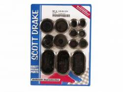 Weatherstrip - Kits - Scott Drake - 1971 - 1973 Mustang  Rubber Grommet Kit