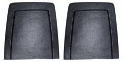 Seats & Components - Seat Components - Scott Drake - 1971 Mustang Seat Back Panels - Black