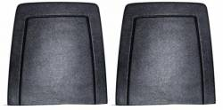 Seats & Components - Seat Components - Scott Drake - 1972-73 Mustang Seat Back Panels - Black