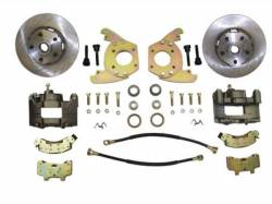 Disc Brakes - Brake Kits - Scott Drake - 64 - 66 Mustang Disc Brake Conversion 6 Cylinders