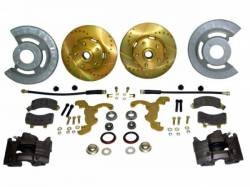 Disc Brakes - Brake Kits - Scott Drake - 65-69 Mustang Hi-Po Disc Brake Conversion Kit