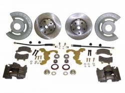 Disc Brakes - Brake Kits - Scott Drake - 64-69 Mustang Single Caliper Disc Conversion Kit (V8)