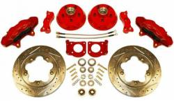 Disc Brakes - Brake Kits - Scott Drake - 64 - 73 Mustang Disc Brake Conversion Kit