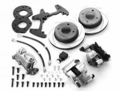 Disc Brakes - Brake Kits - Scott Drake - 1964 - 1966 Mustang  Front Disc Brake Conversion Kit (6 Cylinder)