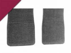 Carpet & Related - Floor Mat Sets - Scott Drake - 1964 - 1973 Mustang Carpet Floor Mats (Maroon)