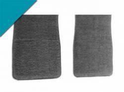 Carpet & Related - Floor Mat Sets - Scott Drake - 1964 - 1973 Mustang Carpet Floor Mats (Turquoise)