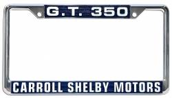 Accessories - License Plate - Scott Drake - 64 - 73 Mustang Shelby G.T. 350 License Plate Frame