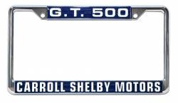 Accessories - License Plate - Scott Drake - 64 - 73 Mustang Shelby G.T. 500 License Plate Frame