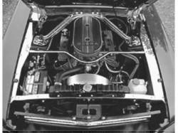 Engine - Engine Compartment Dress-Up - Scott Drake - 64-66 Mustang Underhood Stainless Trim
