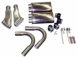 Kits - Side Exit - Stang-Aholics - 67 - 68 Mustang Eleanor Side Exhaust Kit