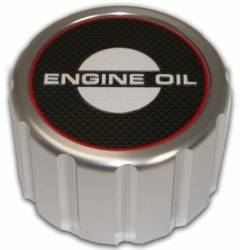 Engine - Engine Compartment Dress-Up - Scott Drake - 65 - 68 Mustang Billet Engine Oil Cap