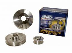 Engine - Engine Pulleys & Brackets - BBK Performance - 96 - 01 Mustang GT & Cobra 4.6L 2/4V BBK Underdrive Pulley Kit