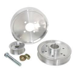 Engine - Engine Pulleys & Brackets - BBK Performance - 01 - 04 Mustang GT Underdrive Pulley Kits