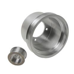 Engine - Engine Pulleys & Brackets - BBK Performance - 94 - 98 Mustang 3.8L BBK 2 Piece Aluminum Pulley Kits