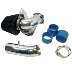 BBK Performance - 94 - 95 Ford Mustang GT/Cobra 5.0L BBK Cold Air Intake System, Chrome