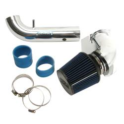 BBK Performance - 94 - 98 Ford Mustang V6 3.8L BBK Cold Air Intake System, Chrome