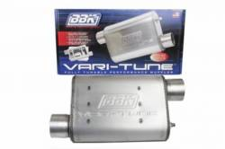 Exhaust - Mufflers - BBK Performance - 64 - 14 Mustang BBK Varitune Exhaust Muffler, Stainless Finish