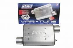 Exhaust - Mufflers - BBK Performance - 64 - 14 Mustang BBK Varitune Exhaust Muffler, Stainless