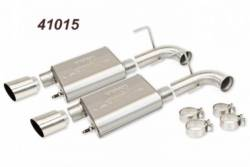 Kits - Axle & Cat Back - BBK Performance - 11-14 Mustang GT Varitune Axle Back-Mild Steel