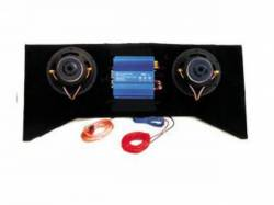 Audio - Speakers - Scott Drake - Mustang Behind Rear Seat Speakers