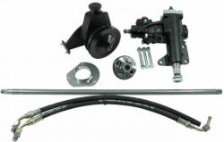 Borgeson - 65 - 66 Mustang Power Steering Conversion Kit, 6 Cylinder Motors
