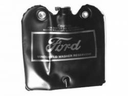Windows - Windshield Washer & Related - Scott Drake - 66-67 Mustang Washer Bag, Bag assembly (Gold Silkscreen, l