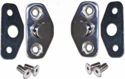 Door - Latches & Related - Scott Drake - 64 - 66 Mustang Stainless Steel Door Striker Kit