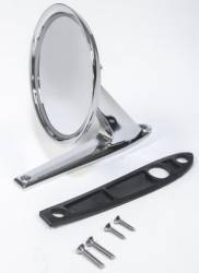 Body - Mirrors - Scott Drake - 64 - 70 Mustang Show Quality Long Base Mirror