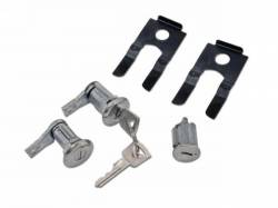 Door - Locks & Related - Scott Drake - 1964 - 1966 Mustang  Door & Ignition Lock Set