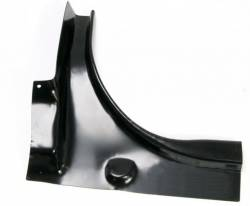 Trunk Area - Deck Lid - Scott Drake - 67 - 68 Mustang Trunk Rear Corner, Fstbk