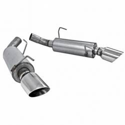 MBRP - 05-10 Mustang GT/07-10 GT500 Axle-Back Exhaust Aluminized