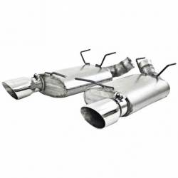 Kits - Axle & Cat Back - MBRP - 11 - 14 Mustang GT Axle-Back Exhaust Pro Stainless