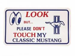 Accessories - Garage Decor - Scott Drake - Mustang Magnetic Sign
