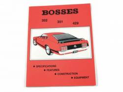 Accessories - Literature - Scott Drake - 1969 - 1971 Mustang Bosses 302,351,429